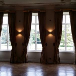 L'un des salons du Château Bayard