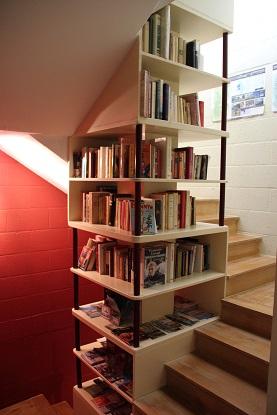 Cage d'escalier - bibliothèque, La Marguerite