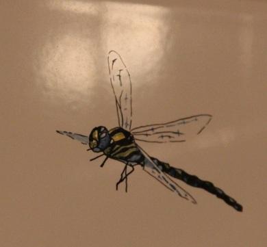 La libellule... peinte