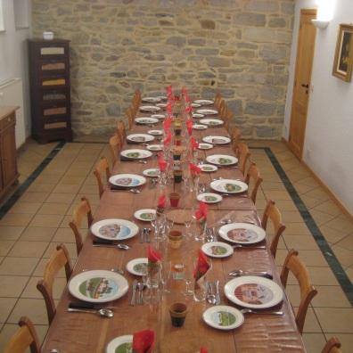 Salle à manger d'Al Pierîre