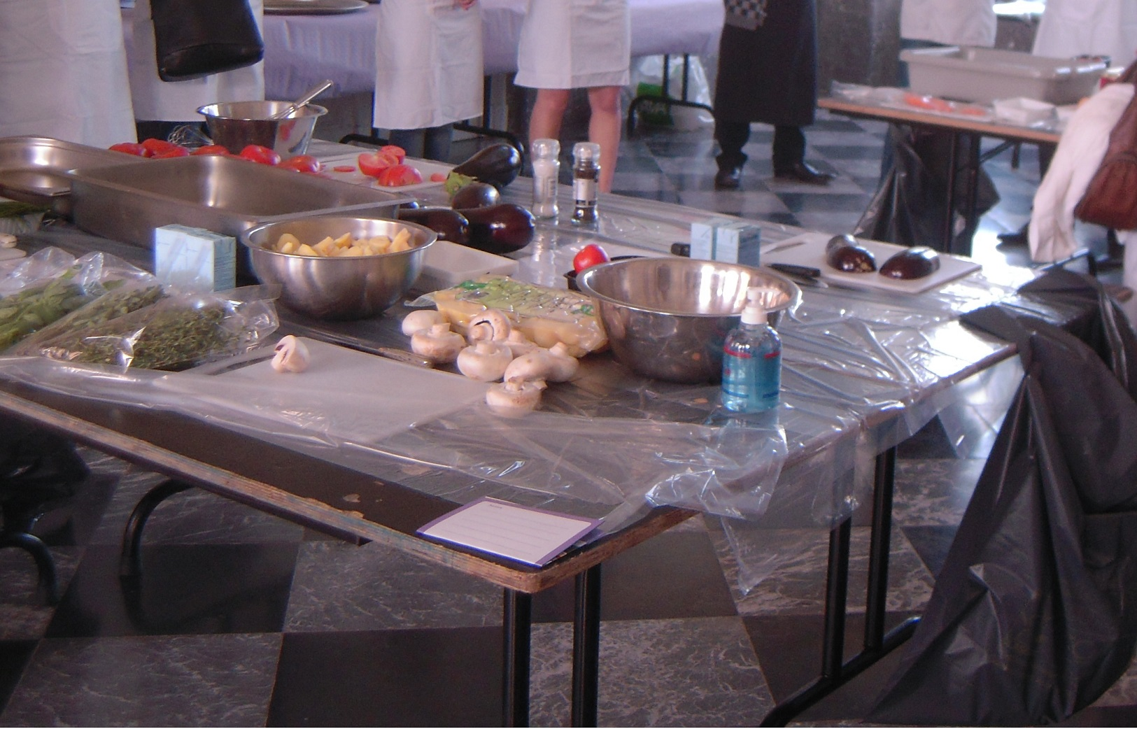 Un atelier cuisine a change des mariages label au for Atelier cuisine embourg