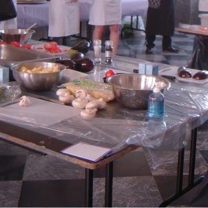 Cuisine du Château Bayard