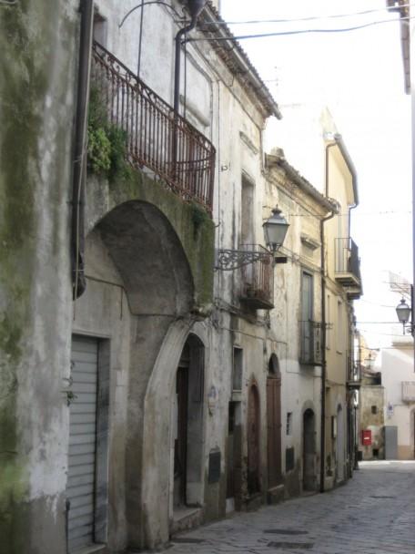 Une rue d'Acerenza