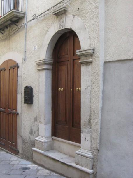 Une ravissante porte