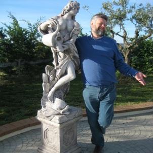 Acerenza - Loggia del Monaco - Statue et imitation