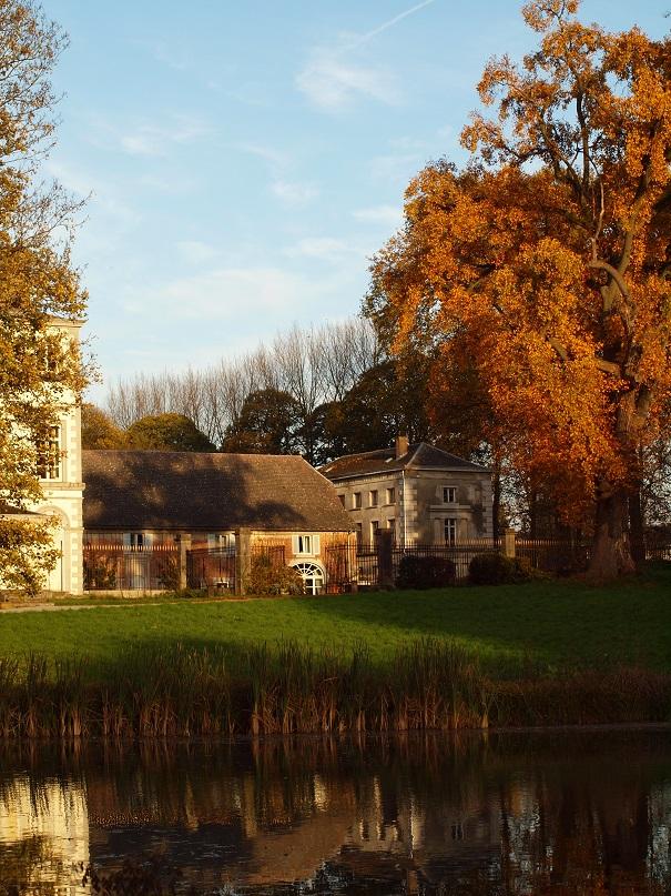 L'automne au Château de Longchamps