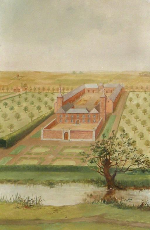 Lonchamps aquarelle ancien château