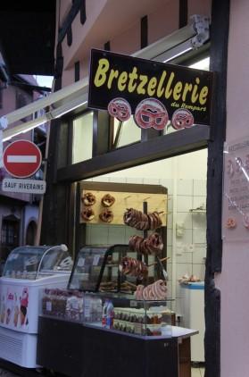 Eguisheim, Alsace - Bretzellerie, quel joli nom !