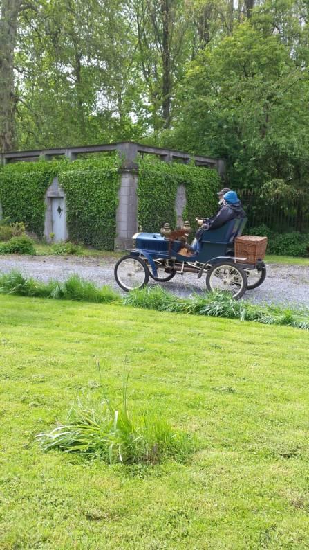 Old timers au château de Longchamps