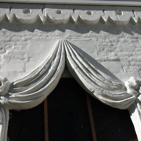 Tente de Napoléon du château de Longchamps mars 2021